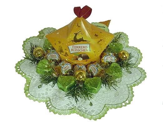 Weihnachtsdeko Ferrero.Geschenk Strauss 04 005 Ferrero Küsschen Strauss Weihnachten