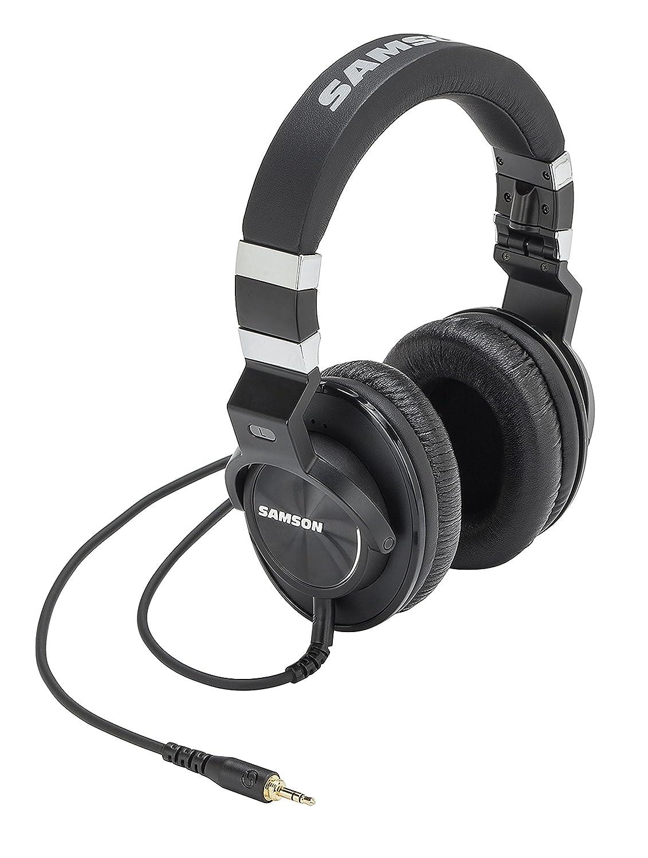 Samson Z55 Closed Back Over-Ear Professional Reference Headphones Samson Technologies