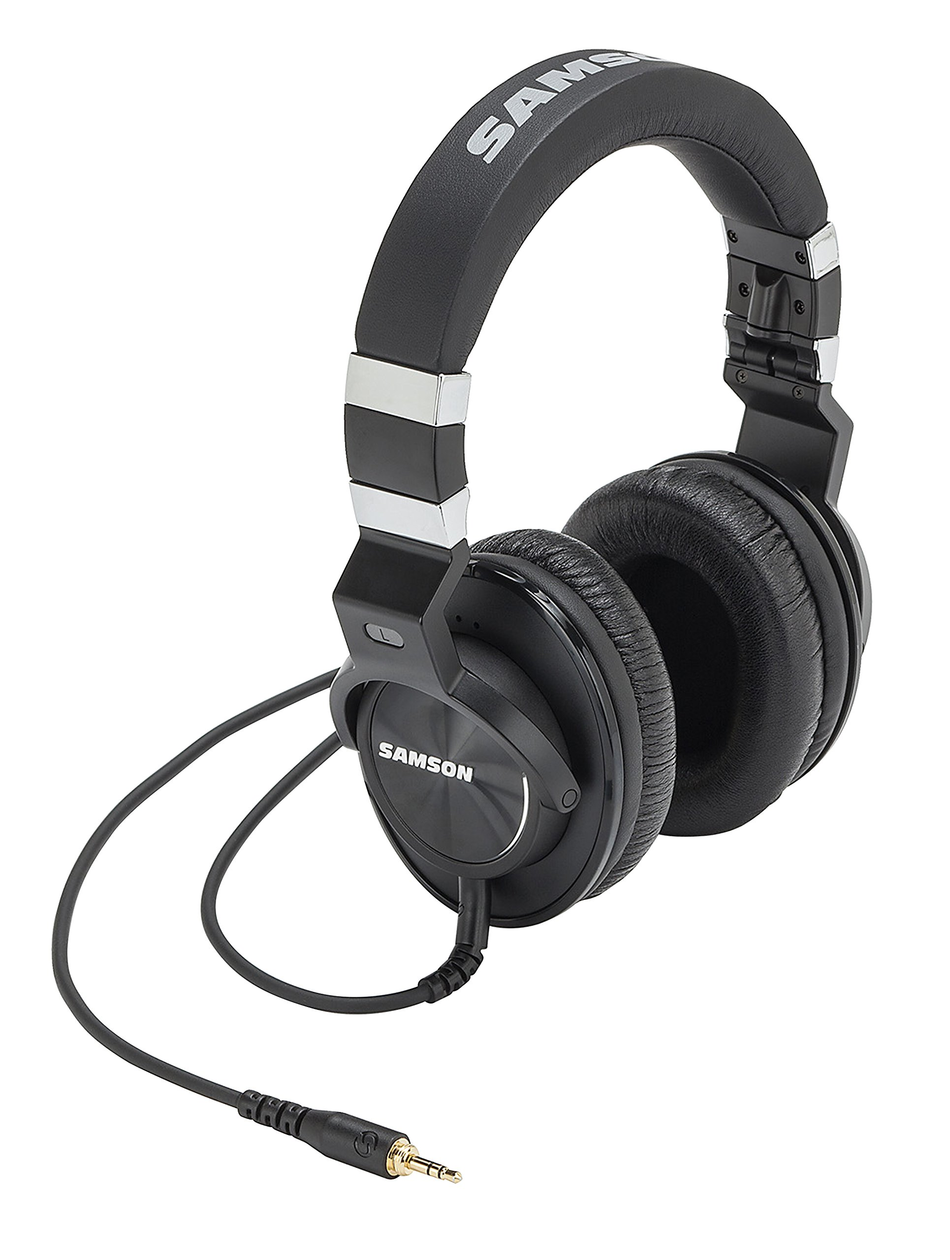 Samson Z55 Closed Back Over-Ear Professional Reference Headphones by Samson Technologies
