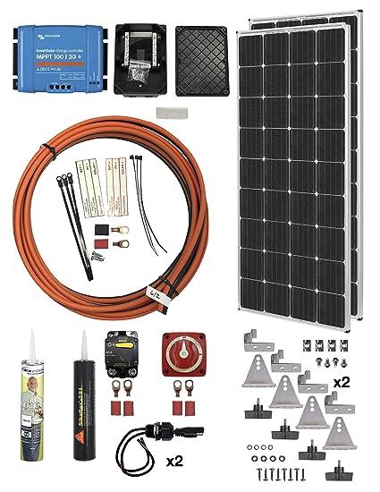 Amazon com : AM Solar 99-VT0302x170 Complete 30 Amp Solar Charging