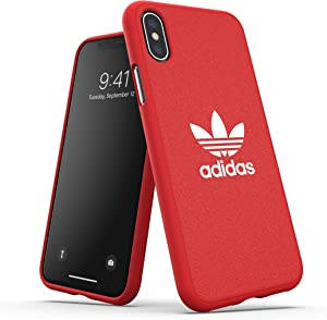 adidas Originals Phone Case/Mobile Phone Case Compatible with iPhone X XS - Red/Red