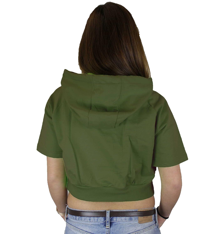 Boy London - Sudadera - para Mujer Militare Large: Amazon.es: Ropa y accesorios