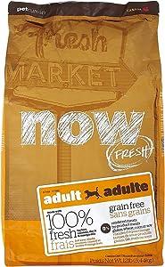 Now! 152343 Fresh Grain Free Adult Dog Food, 12-Pound Bag