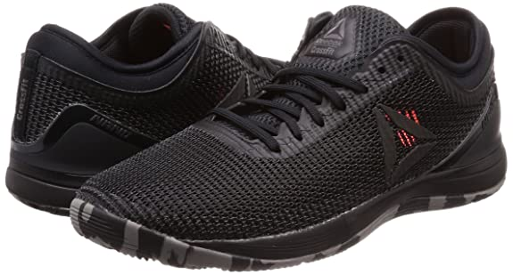 Amazon.com | Reebok Crossfit Nano 8.0 Flexweave Mens Training Shoes - Black-7.5 | Shoes