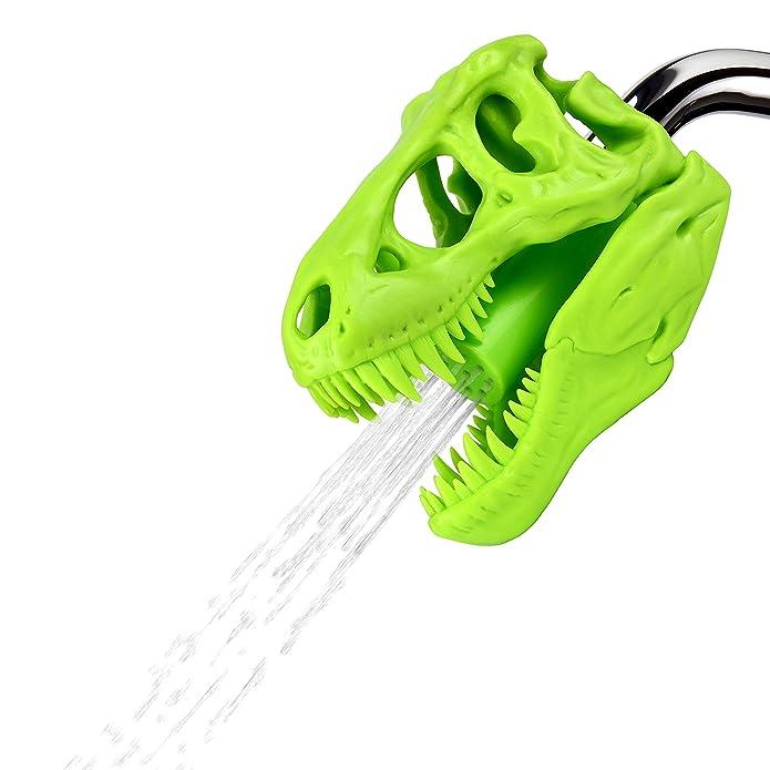 Wash N Roar T-Rex Shower Head - Green