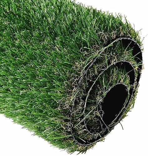 LeeMas Inc Fake Grass Mat Artificial Green Carpet for Multi-Application Dog Cat Rabbit Pet Golf Deck Outdoor Indoor