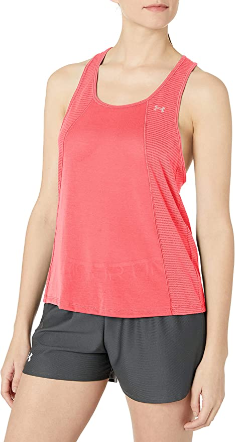 TALLA XS. Under Armour Threadborne Fashion Tank Camiseta sin Mangas, Mujer