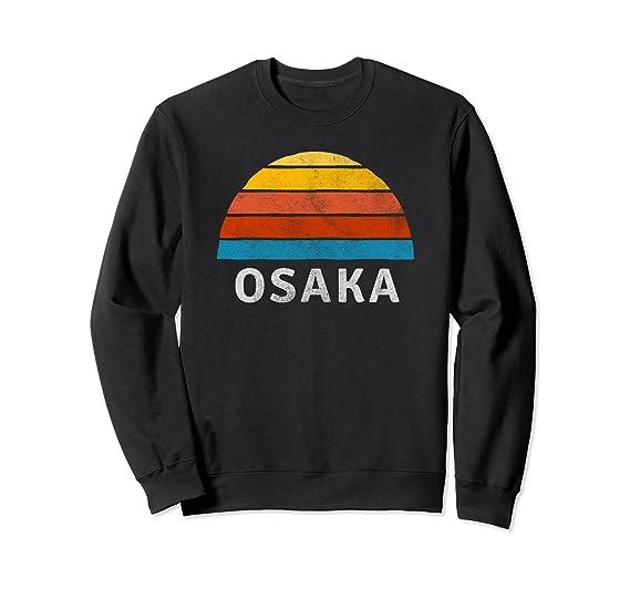 23c5d19641da0 Amazon.com: Osaka Retro Sunset Sweatshirt: Clothing