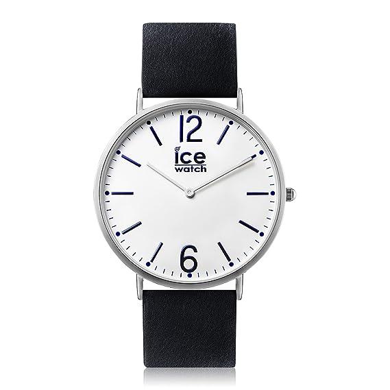 Ice-Watch - CITY Finsbury - Reloj nero para Hombre (Unisex) con Correa
