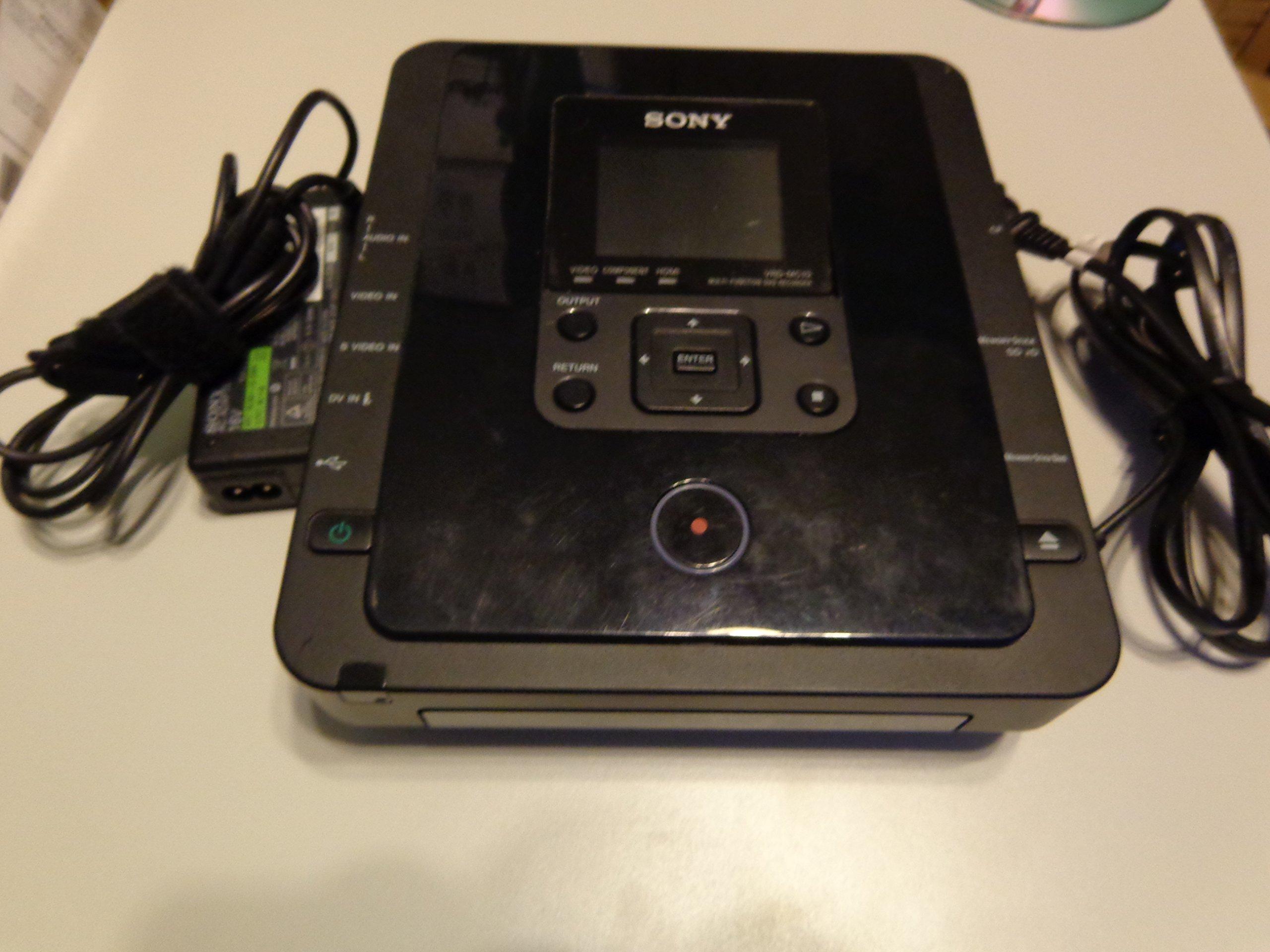 Sony DVDirect VRDMC10 Stand Alone DVD Recorder/Player (Black)