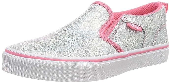 Vans Asher Schuhe Kinder Silber/Rosa