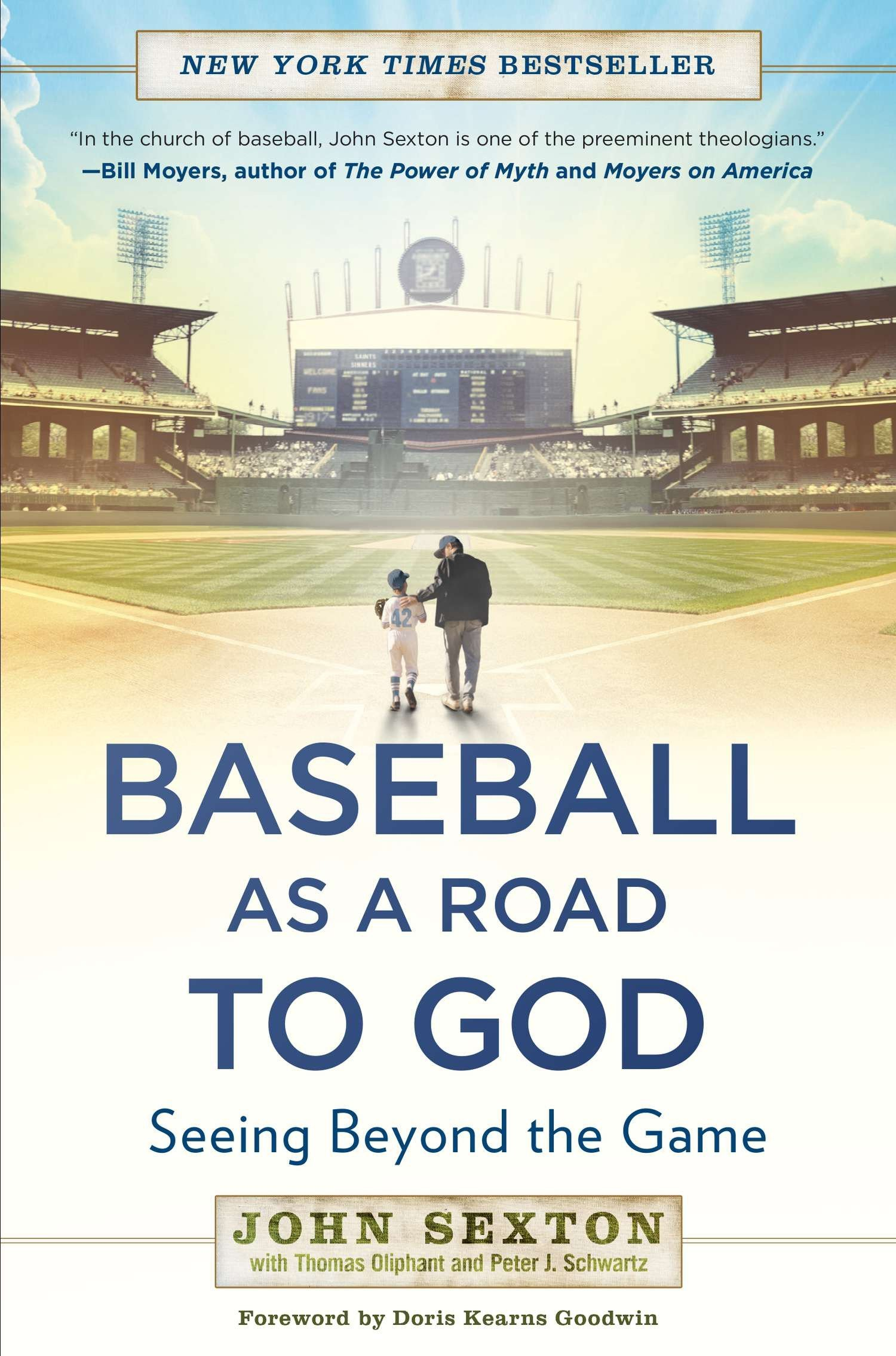Read Online Baseball as a Road to God: Seeing Beyond the Game ebook