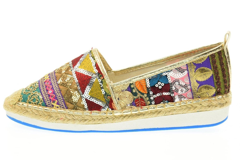 GOLD&GOLD Espadrilles Shoes DS35 Multi Size 40 Multicolor: Amazon.co.uk: Shoes  & Bags