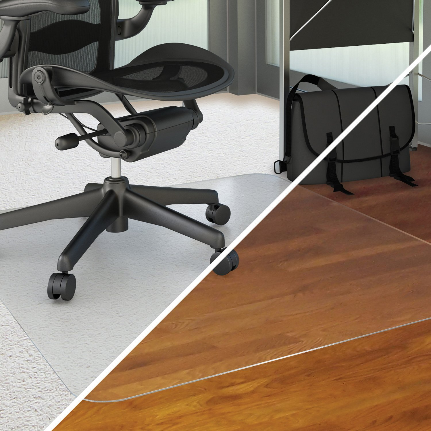 Amazon Deflecto Duomat Multi purpose Chairmat For Carpets or