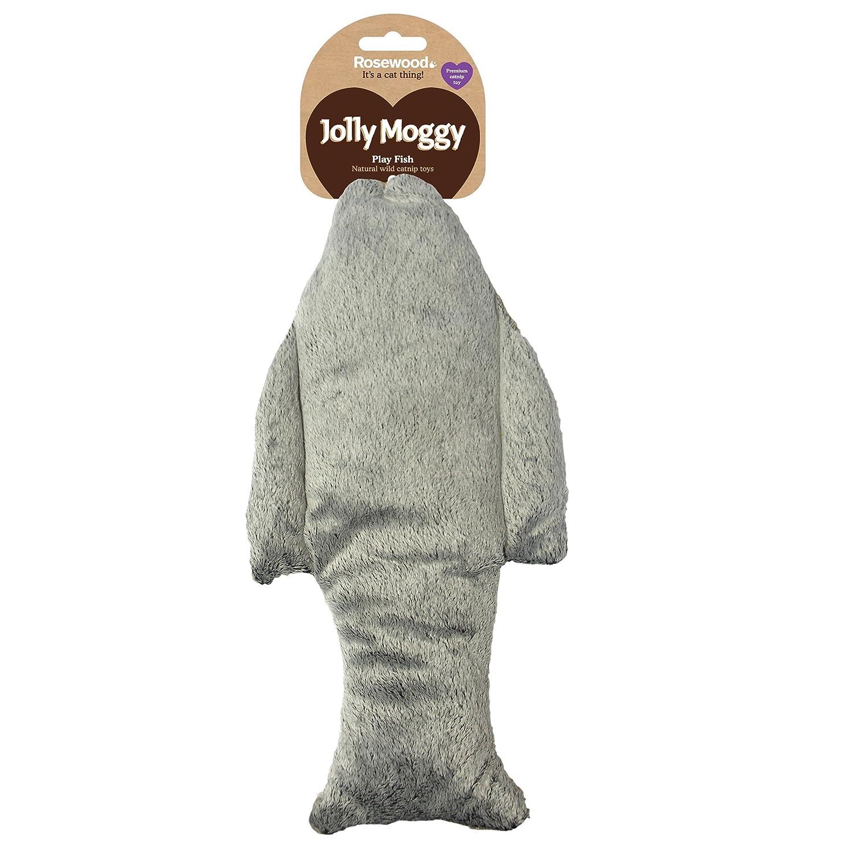 Rosewood Juguete para Gatos Jolly Moggy con Hierba gatera