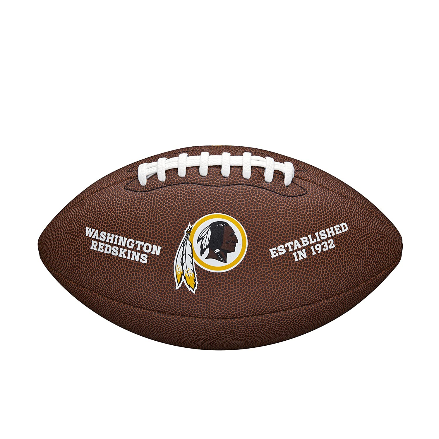 Wilson NFL Washington Redskins Full Size Composite Football WTF1748WASH
