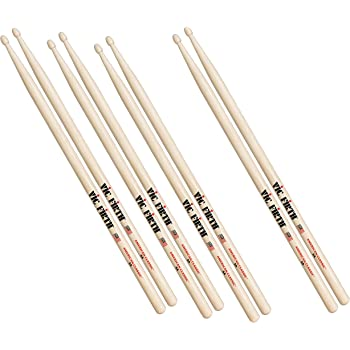 vic firth p5a 3 5a 1 american classic wood tip drumsticks pack of 4 musical. Black Bedroom Furniture Sets. Home Design Ideas