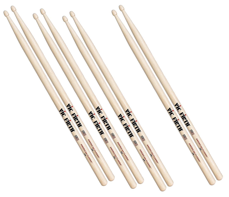 16.0 pulgadas de longitud, punta de madera Vic Firth ESTICK color madera Baqueta