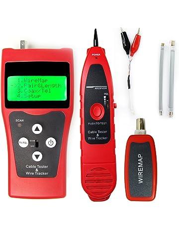Probador del perseguidor del cable de LAN Red Digital Telephone coaxial BNC USB