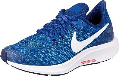 mitología brillo techo  Nike Air Zoom Pegasus 35 (GS), Zapatillas de Atletismo para Niños,  Multicolor (Indigo Force/White/Photo Blue/Blue Void 404), 33.5 EU:  Amazon.es: Zapatos y complementos