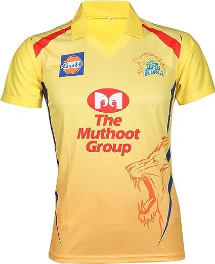 100/% Kolkata Knight Riders IPL 2019 Cricket Polo Mens