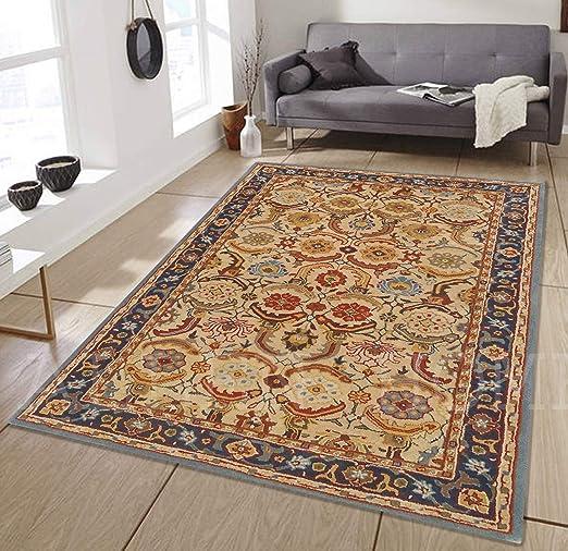 Amazon Com Allen Home Wool Rug Sale 9 X12 Alvira Beige Tufted