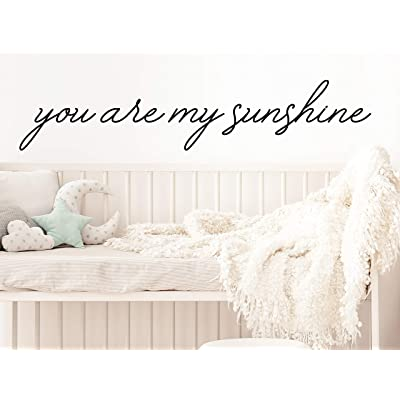 Story of Home LLC You are My Sunshine Wall Decal Nursery Wall Decal Kids Room Wall Decal Nursery Wall Sticker Kids Room Wall Sticker Vinyl Wall Decal: Home & Kitchen