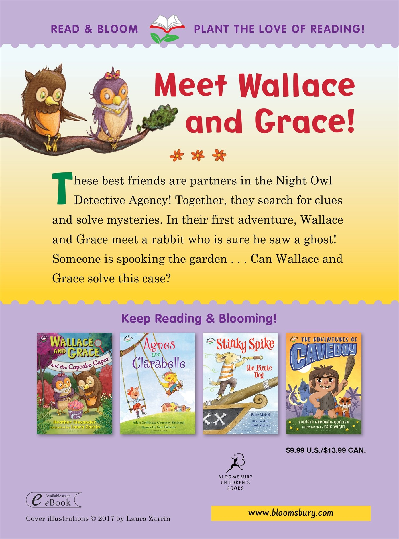 Amazon: Wallace And Grace Take The Case (9781619639881): Heather  Alexander, Laura Zarrin: Books