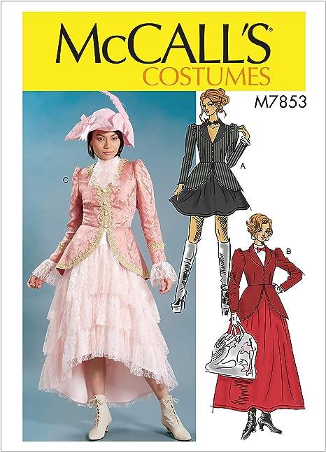 McCalls M7853 E5 Steampunk Mary Poppins - Patrones de costura ...