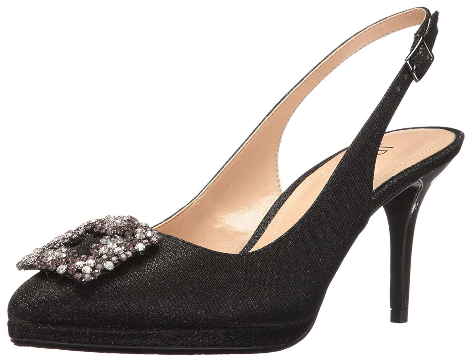 J.Renee Women's Devorah Dress Pump B01INJK20W 8 N US|Black