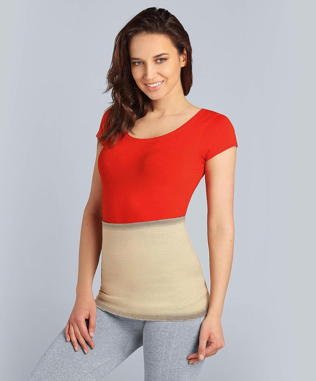 Size 7 - Beige ®BeFit24 Fascia Lombare contro il mal di..
