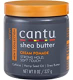 Cantu Shea Butter Men's Collection Cream Pomade, 8 Ounce