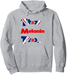 That Melanin Tho Hoodie - Love Your Skin - British Pride