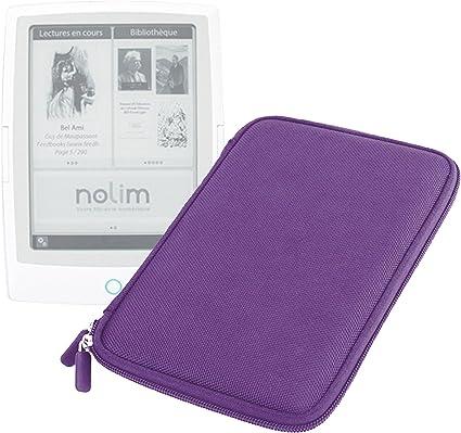 Duragadget - Funda rígida para lector Nolim de Carrefour NolimBook y Nolim+ de 6