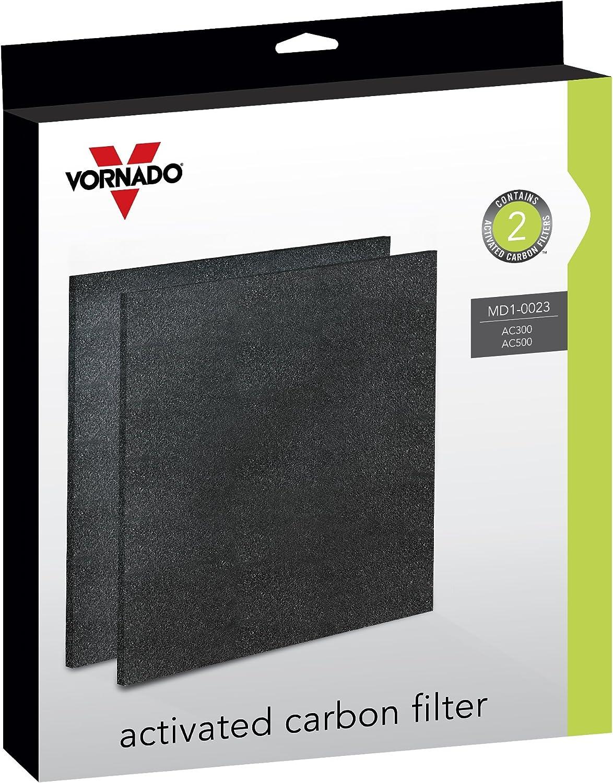 Vornado MD1-0023 Replacement Carbon Filters (2-Pack),Black