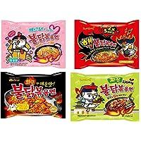 Samyang Ramen / Spicy Chicken Roasted Noodles (4 Flavor Combo (20 Pk))