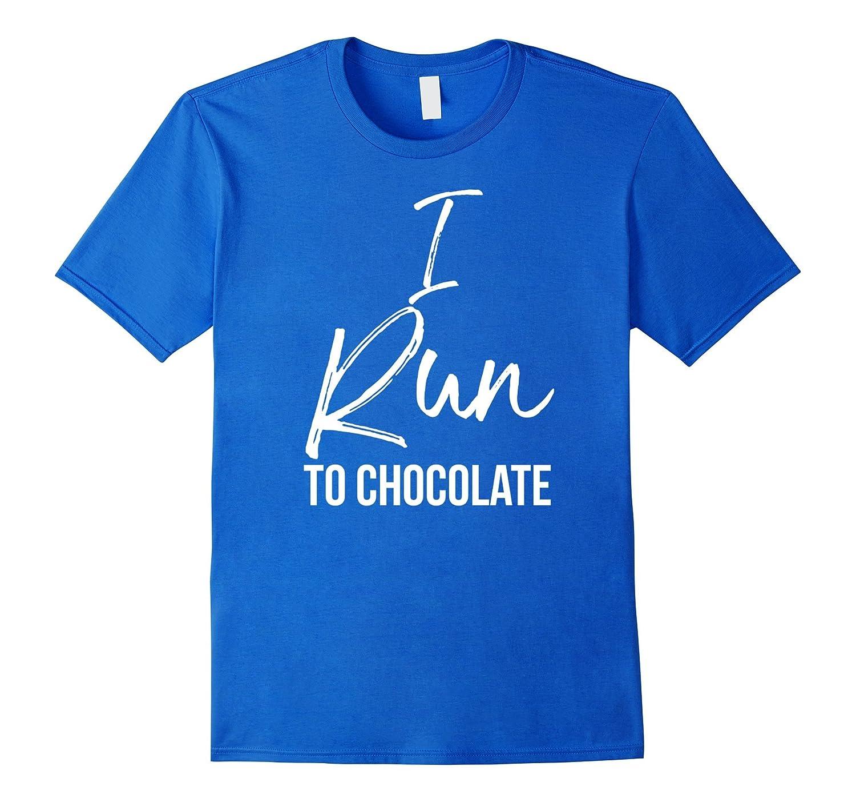 Womens Chocolate Shirt Running Exercise-Awarplus