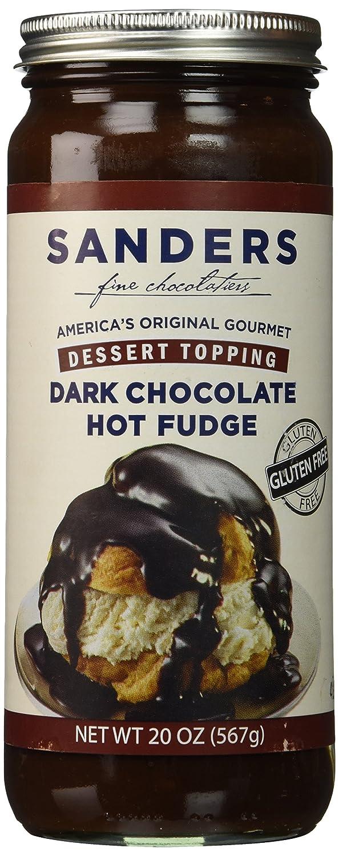 Amazon.com : Sanders Hot Fudge (Dark Chocolate Hot Fudge Topping ...