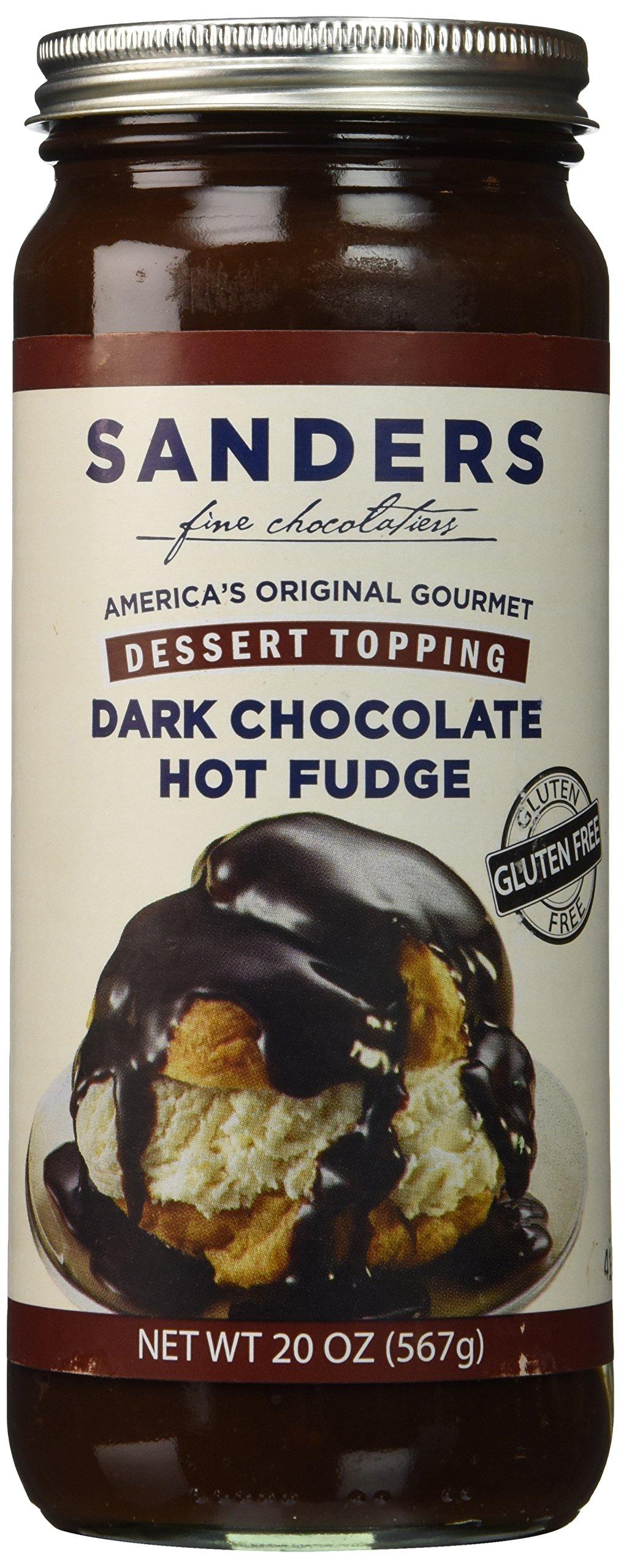 Sanders Hot Fudge (Dark Chocolate Hot Fudge Topping, 20 oz)