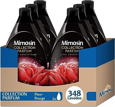 Mimosín Collection Parfum Suavizante Fleur Rouge - 6 Paquetes de ...