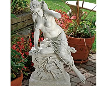 Perfect Nude Erotic Greek Goddess Demeter Home Museum Garden Statue