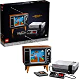 LEGO Nintendo Entertainment System 71374 Building Kit; Creative Set for Adults; Build Your Own LEGO NES and TV, New 2021 (2,6