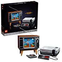 LEGO Nintendo Entertainment System 71374 Building Kit; Creative Set for Adults; Build Your Own LEGO NES and TV, New 2021 (2,646 Pieces)