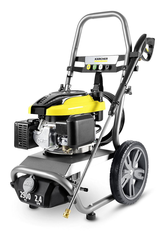Karcher 11073840 G2900X Gas Powered Pressure Washer, Gray/Yellow