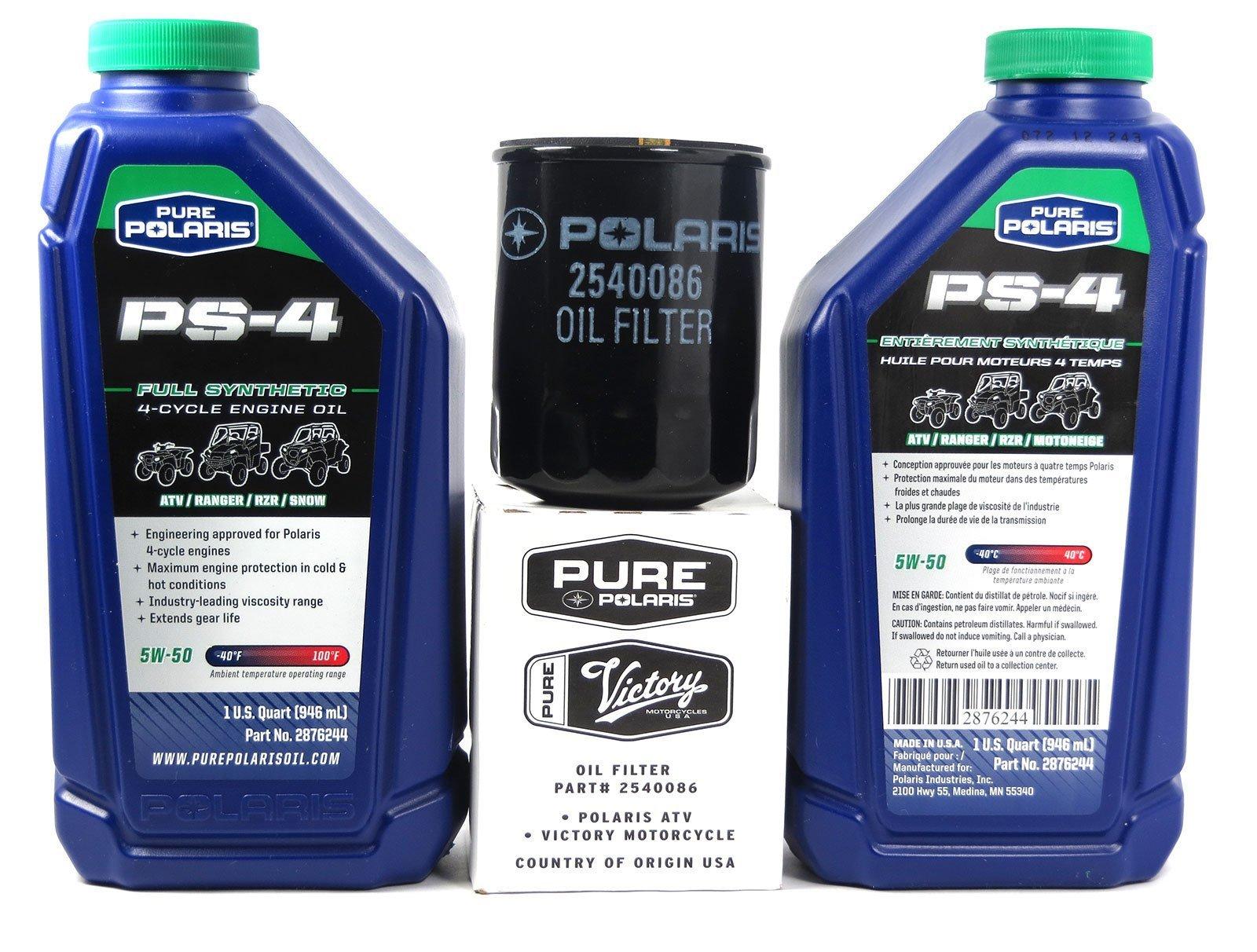 2012 POLARIS RANGER 800 / XP HD POLARIS OIL CHANGE KIT