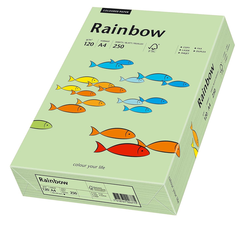 Rainbow Kopierpapier Papier Druckerpapier farbig bunt DIN A5 80g Farbe nach Wahl