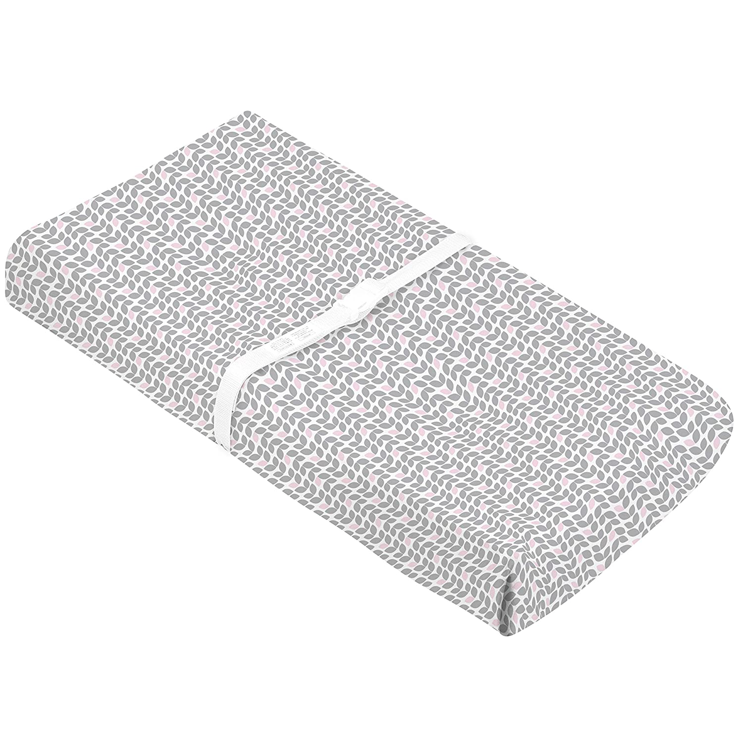 Made in Canada Kushies Baby Contour Change Pad Cover Ultra Soft 100/% Cotton Flannel Grey Petal