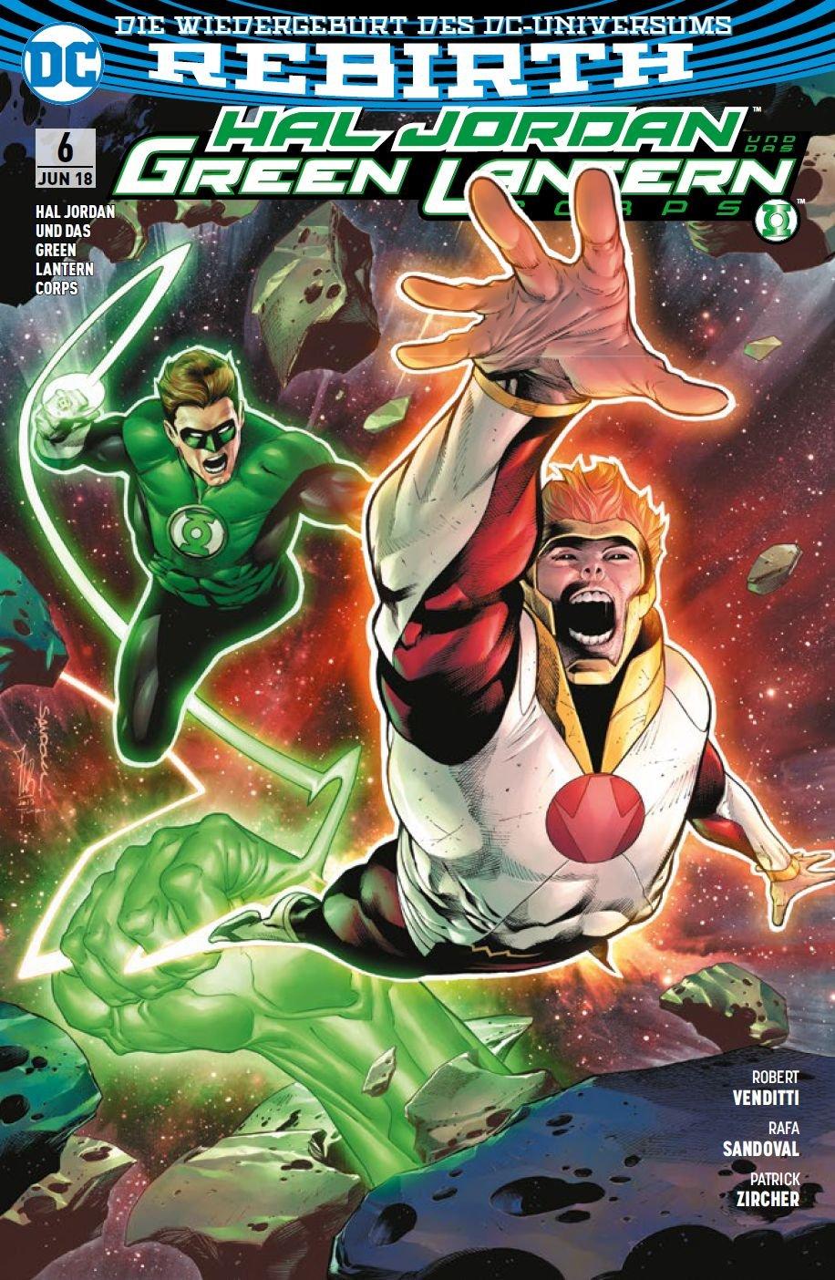 Hal Jordan und das Green Lantern Corps: Bd. 6: Der Fall der Götter