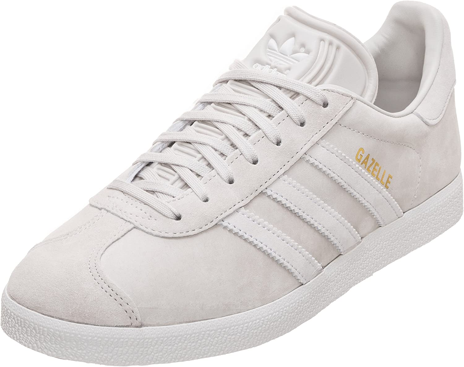 bueno Error lila  Adidas Gazelle Trainers Women's, light-grey / white, 6.5 UK - 40 EU:  Amazon.co.uk: Sports & Outdoors