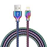 Lightning Cable,Fantany Metal Coiled USB A to